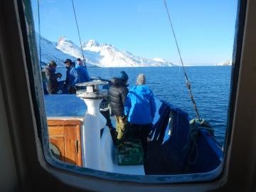 navigation vers le fjord de l'Eternité © y estienne