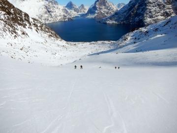 descente sur le fjord de l'Eternité © y estienne