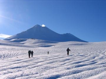 en direction du volcan Llaima © y estienne