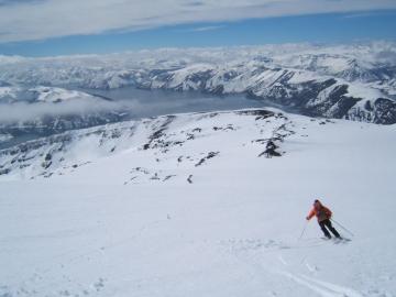 du grand ski sur l'Osorno © y estienne