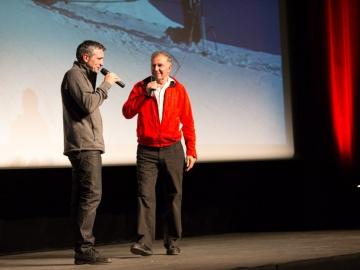 Aux rencontres du cinéma de montagne à Gap en 2013 www.cimalpes.fr