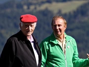 Michel Serres et Yvan Estienne © P Arpin