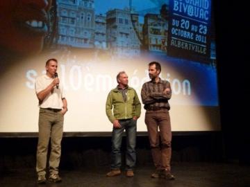 Au festival Grand Bivouac d'Alberville festival du voyage et des découvertes www.grandbivouac.com